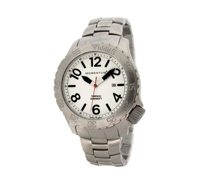Часы Momentum Torpedo Luminous Sapphire сапфировое стекло, сталь