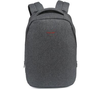 """Рюкзак Tigernu T-B3164 USB, серый, 17"""""""