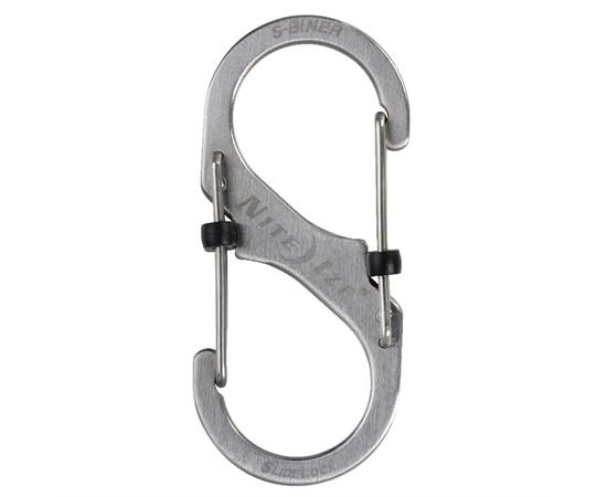 Карабин Nite Ize S-Biner Slidelock #3 Stainless Steel LSB3 11 R6