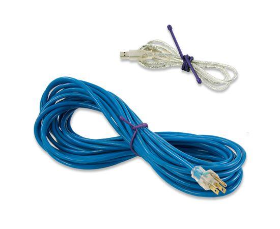 Гибкие стяжки Nite Ize Gear Tie 24 Blue GT24 2PK 03