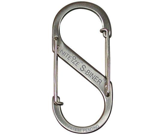 Карабин Nite Ize S-Biner #3 Stainless Steel SB3 03 11