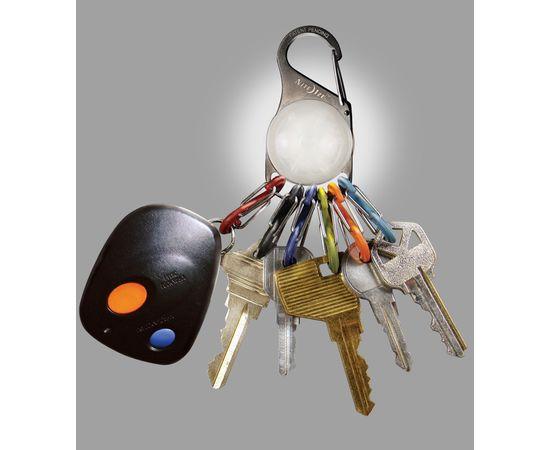 Набор карабинов со светодиодом Nite Ize S-Biner KeyLit White LED KRL 03 02