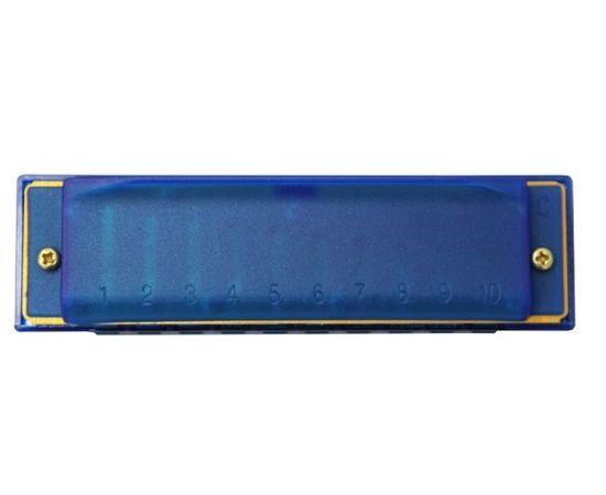Детская губная гармошка диатоническая Hohner Happy Blue C M5152