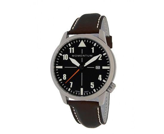 Часы Momentum Fieldwalker Automatic сапфировое стекло, кожа