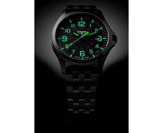 Часы Traser P67 Officer Pro GunMetal Black/Lime, сталь