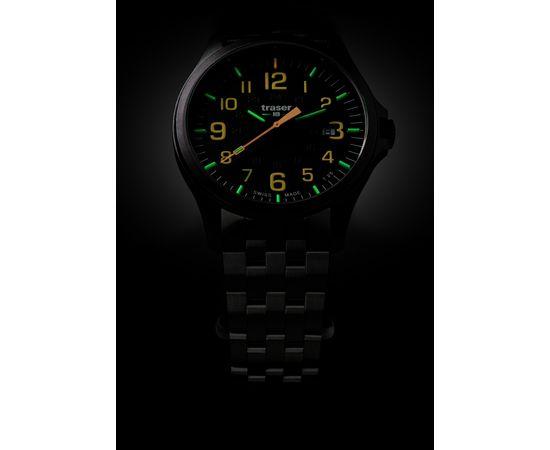 Часы Traser P67 Officer Pro GunMetal Black/Orange, сталь