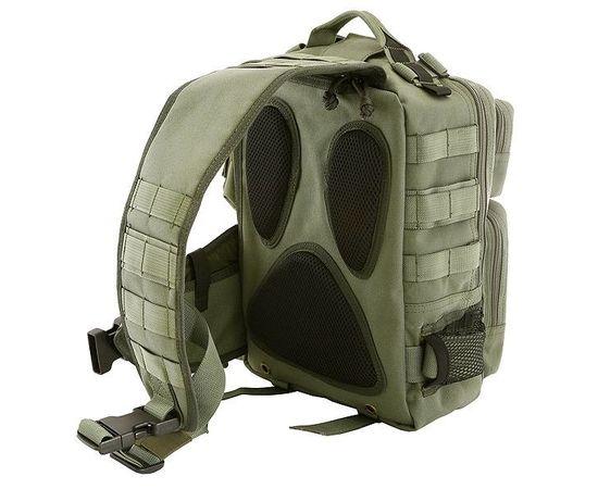 Однолямочный рюкзак Kiwidition Tonga зеленый