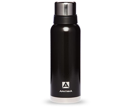 Термос Арктика 1.2 литра, американский дизайн, с узким горлом, черный 106 1200 B