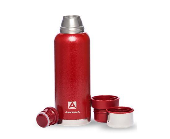 Термос Арктика 1.2 литра, американский дизайн, с узким горлом, красный 106 1200 R