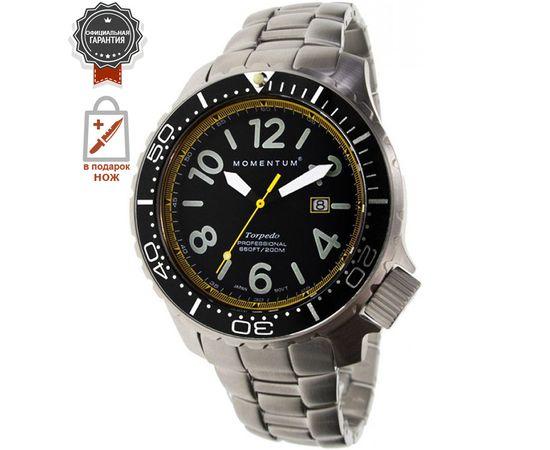 Часы Momentum Torpedo Blast жёлтый со стальным браслетом