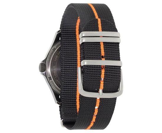Часы Traser P67 Officer Pro GunMetal Orange, текстильный ремешок