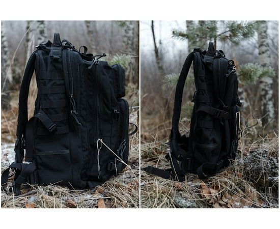 Тактический рюкзак Kiwidition Kahu,черный