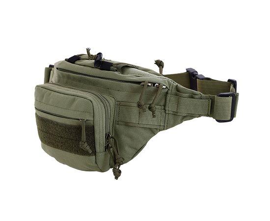 Поясная сумка Kiwidition Pokorua, зеленая