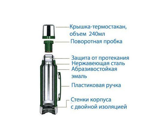 Термос Stanley Legendary Classic 1L зеленый