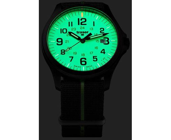 Часы Traser P67 Officer Pro GunMetal Lime, текстильный ремешок