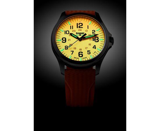 Часы Traser P67 Officer Pro GunMetal Orange как светится
