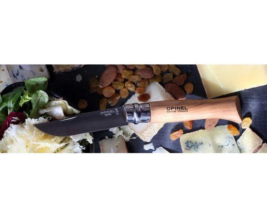 Складной нож Opinel №12, нержавеющая сталь, рукоять из бука