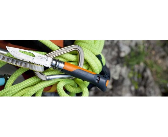 Складной нож Opinel №8 Outdoor Earth, оранжевый