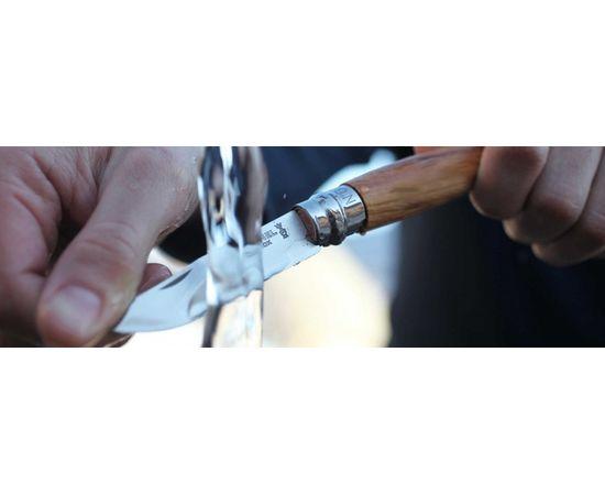 Складной нож Opinel №8, нержавеющая сталь, рукоять из оливкового дерева