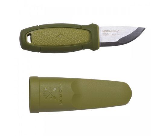 Компактный нож Mora Morakniv Eldris зелёный, нержавеющая сталь