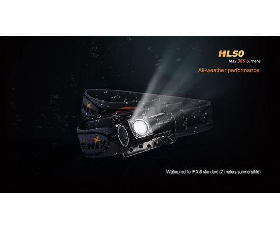 Налобный светодиодный фонарь Fenix HL50, 365 люмен