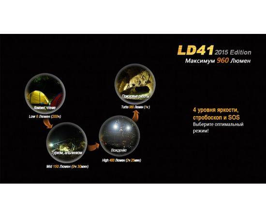 Фонарь Fenix LD41 2015 Edition, 960 люмен