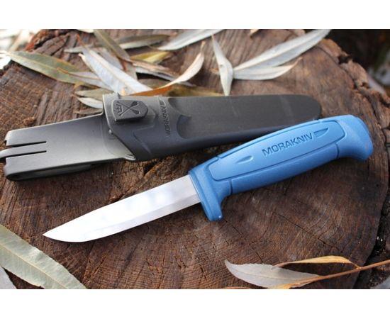 Нож Mora Morakniv Basic 546, нержавеющая сталь, синий