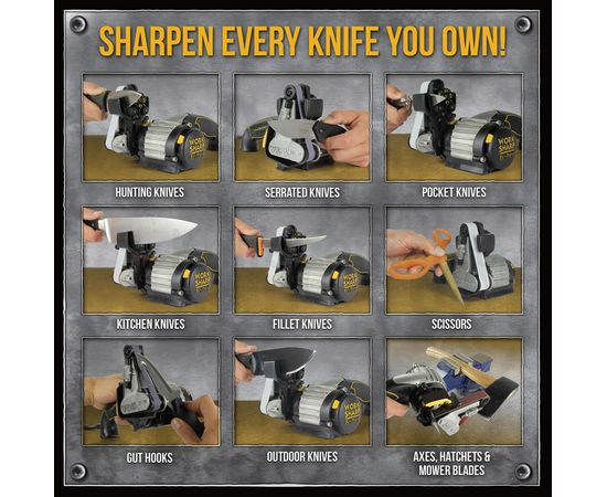 Электрическая точилка Work Sharp Knife Tool Sharpener Ken Onion Edition