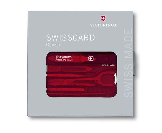 Швейцарская карта Victorinox SwissCard 0.7100.T, 10 функций
