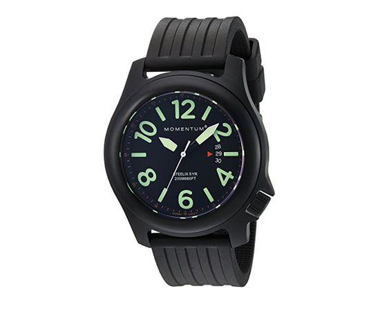 Часы Momentum Steelix Black-ION каучук