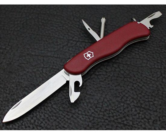 Швейцарский нож Victorinox Adventurer 0.8953, красный с фиксатором