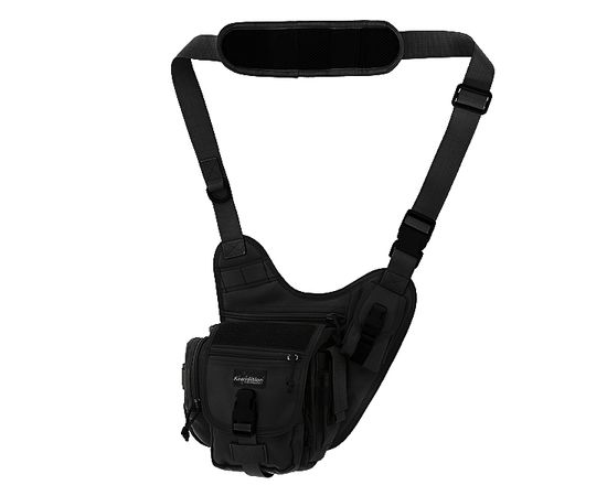 Наплечная сумка Kiwidition Kea Black, чёрная