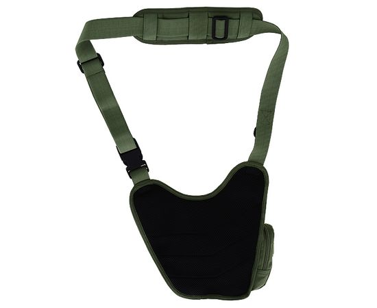 Наплечная сумка Kiwidition Kea Black, зелёная