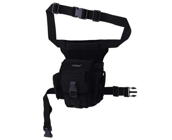 Набедренная сумка Kiwidition Moko, чёрная