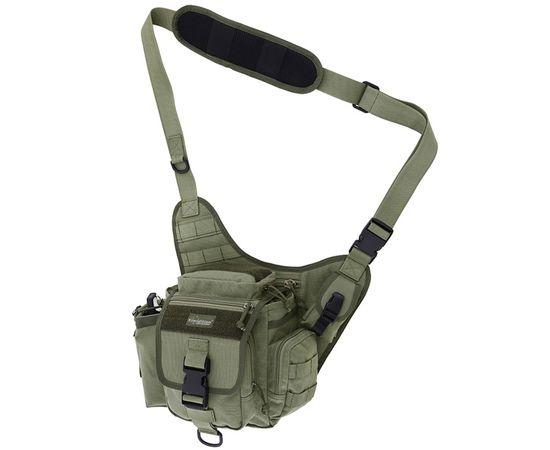 Наплечная сумка Kiwidition Takahe, зелёная