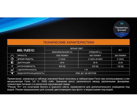 Подводный фонарь Fenix SD11 Cree XM L2 U2