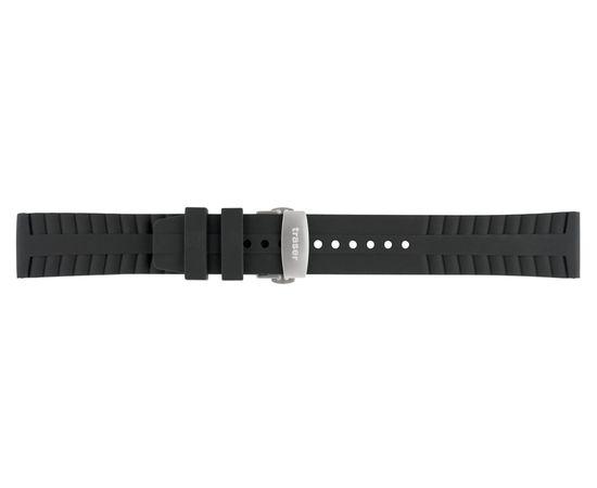 Силиконовый ремешок Automatic Pro с фикс.замком черный №45