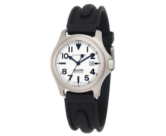 Часы Momentum Atlas Ti Lum сапфировое стекло, каучук