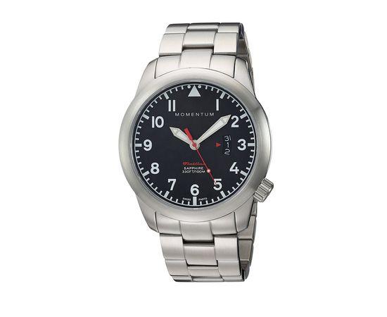 Часы Momentum Flatline Field сапфировое стекло, сталь