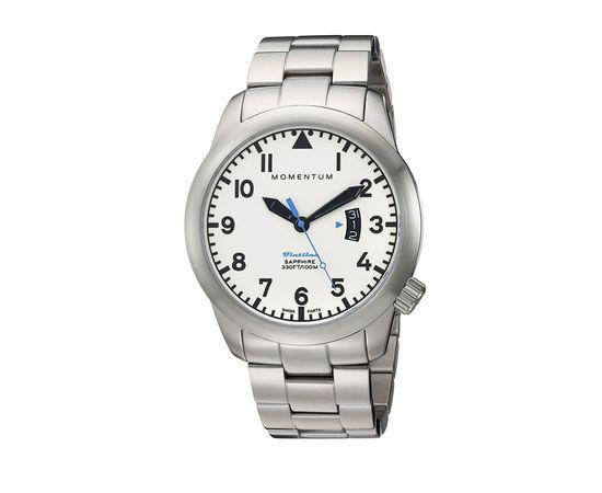 Часы Momentum Flatline Field Lum сапфировое стекло, сталь