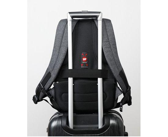 Рюкзак Tigernu T B3164 USB, тёмно серый, 17